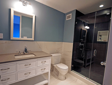 Standing Shower Renovation