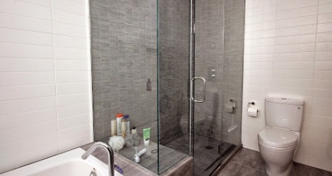 Standing Shower Renovation